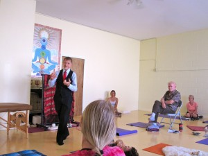 Phil gives a seminar at P.B. Yoga and Healing Arts in Pacific Beach